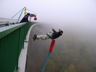 Nejvyšší bungee jumping v čr